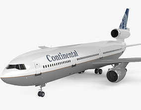 3D McDonnell Douglas DC-10