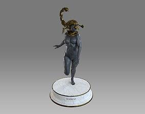 3D model Zodiac Sign Female Scorpio