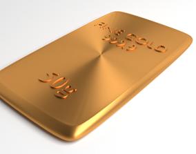 3D model Goldplate 50gram