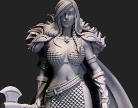 3D printable model Barbarian Sonya