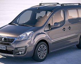 3D Peugeot Partner 2016