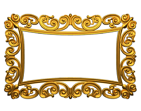 Frame mirror 3D model 11