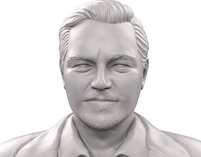 Leonardo DiCaprio 3d model 3d printable sculpture