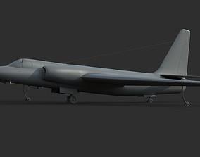 u-2 Lockheed 3D model