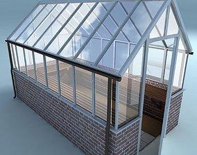 3D model Greenhouse brick