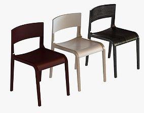 3D Halifax Giulietta wood chair
