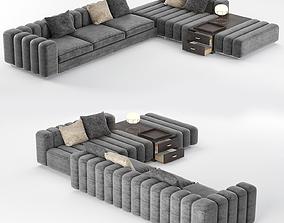 Freeman Corner Sofa System 3D model