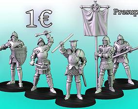 3D printable model Imperial Guard
