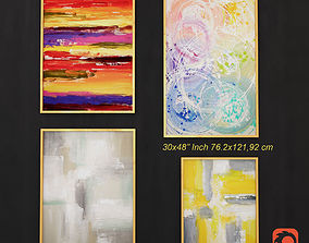 3D model Abstract Painting 002