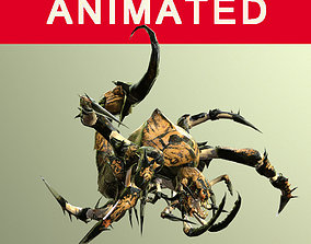 A nightmare beetle from the desert 3D asset