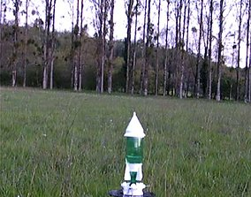 WATER ROCKET ASSEMBLY 3D printable model