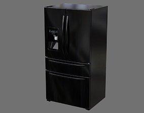 3D asset Refrigerator 3B