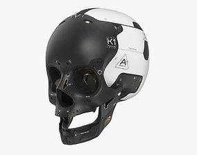 Artificial Skull 3D model
