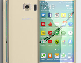 3D model Samsung Galaxy S6 Edge