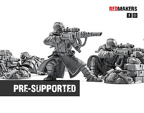 Death Squad - Snipers of the Imperial Force 3D print model