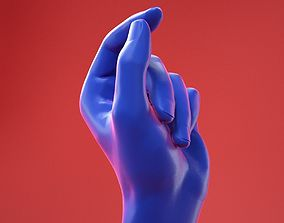 Male Hand 10 3D
