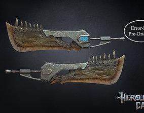 Monster Hunter World - Giant JawBlade 1 3D print model 2