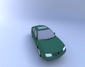 3D model 2000 VW Jetta