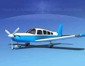 3D Piper Cherokee Six 300 V12