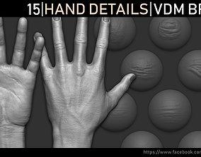 3D Zbrush - Hand Details VDM Brush