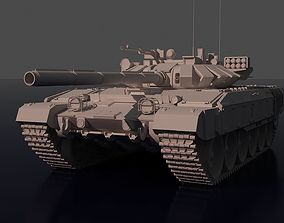 Fictitious tank based on the T-72 3D model