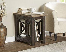 Upton Cheyney End Table 3D model