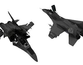 MIG - 29 Fulcrum AIRCRAFT 3D asset