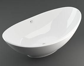 3D model White Rapsel Lavasca Bathtube