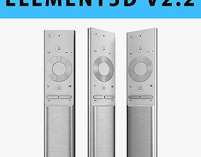 E3D - Samsung QLED TV Remote 2017 3D model