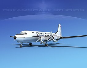 Douglas DC-4 Colonial Airlines 3D