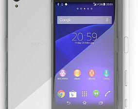 3D model Sony Xperia Z5 grey