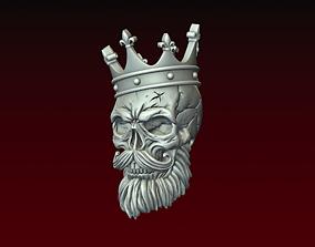Skull King 3D print model