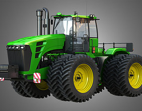 3D model JD - 9230 Articulated Tractor