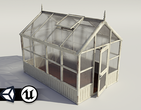 PBR Assets - Greenhouse 3D model