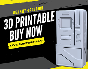3D Print Hard Surface - Crypto ATM Cash Machine 2