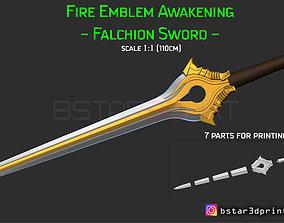 3D print model Fire Emblem Awakening Falchion Sword - 1