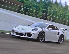 3D model Porsche GT3 RS