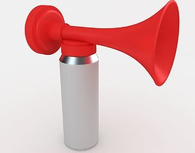 Portable Air Horn 3D model personal