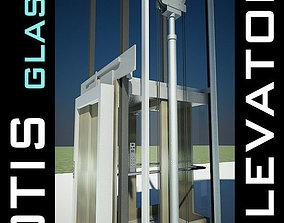 Elevator Lift 3D Model produced by OTIS