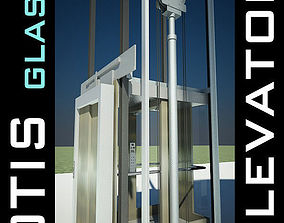 Elevator Lift 3D Model produced by OTIS