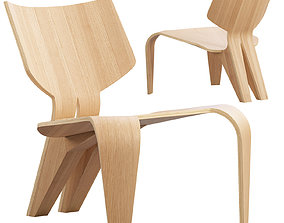 Split Chair by Bahar Ghaemi 3D model