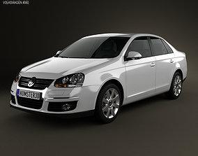 Volkswagen Jetta A5 2010 3D model