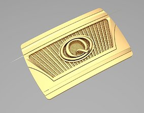 3D printable model Gold Belt Buckle leather