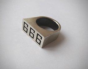 Ring 666 Fran Katekyo Hitman Reborn 3D print model