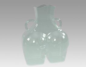 Vase Womens Hips glass 3D print model