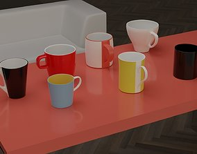 Kitchen Cups - Vol1 3D asset realtime