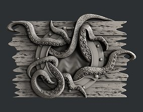 3d STL models for CNC router octopus