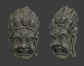 3D model Mayan Tribal Mask