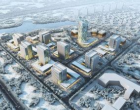 Snow City Commercial Street 3D model