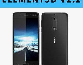 E3D - Nokia 5 2017 Black mode